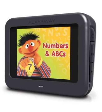 Sesame Street numbers & ABCs.
