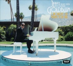 I shouldn't be telling you this - Jeff Goldblum