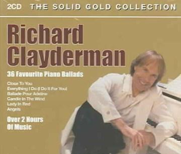 36 favourite piano ballads - Richard Clayderman