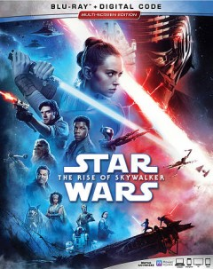 Star Wars. directed by J.J. Abrams ; screenplay by Chris Terrio & J.J. Abrams ; story by Derek Connolly & Colin Trevorrow and J. J. Abrams & Chris Terrio ; produced by Kathleen Kennedy, J.J. Abrams, Michelle Rejwan ; a Lucasfilm Ltd. production ; a Bad Robot production. Episode IX, The rise of Skywalker [2-disc set]