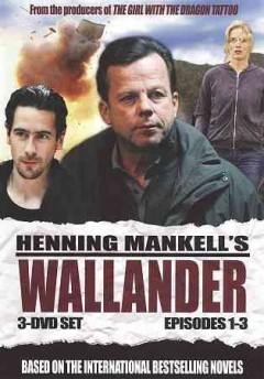Wallander. Episodes 4-6 [3-disc set]