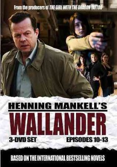 Wallander. Episodes 10-13 [3-disc set].