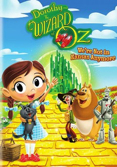Dorothy and the Wizard of Oz : we're not in Kansas anymore.
