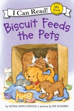 Biscuit feeds the pets - Alyssa Satin Capucilli