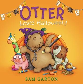 Otter loves Halloween! - Sam Garton