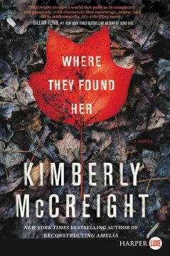 Where they found her : a novel - Kimberly McCreight