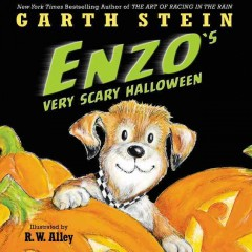 Enzo's very scary Halloween - Garth Stein