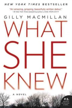 What She Knew - Gilly Macmillan