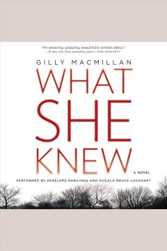 What she knew : a novel - Gilly Macmillan