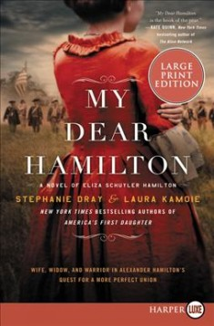 My Dear Hamilton : A Novel of Eliza Schuyler Hamilton - Stephanie; Kamoie Dray