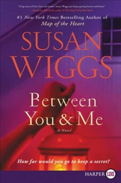 Between you & me : a novel - Susan Wiggs