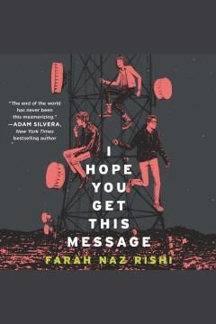I hope you get this message - Farah Naz Rishi
