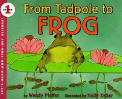 From tadpole to frog - Wendy Pfeffer