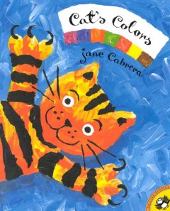 Cat's colors - Jane Cabrera