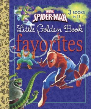 Marvel Spider-Man little Golden Book favorites.