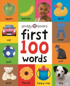 First 100 words : board book.