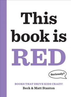 This book is red - Beck Stanton