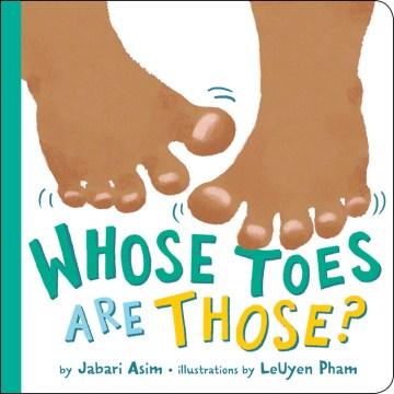 Whose toes are those? - Jabari Asim