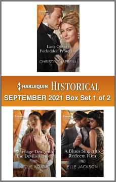 Harlequin Historical. 1 of 2. September 2021 Box Set,