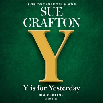 Y Is For... - Sue Grafton