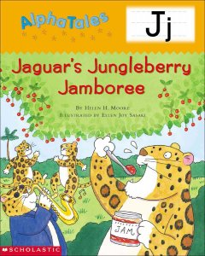 Jaguar's jungleberry jamboree - Helen H Moore