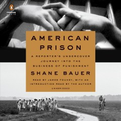 American prison : a reporter's undercover journey into the business of punishment - Shane Bauer