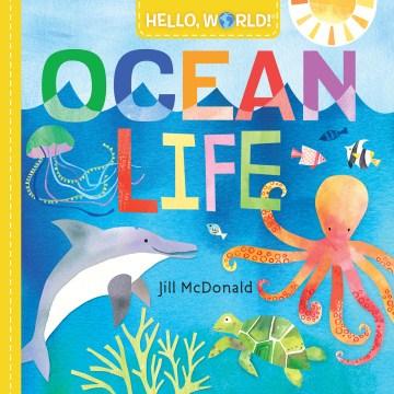 Ocean life - Jillillustrator.author McDonald