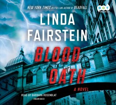 Blood oath : a novel - Linda A Fairstein