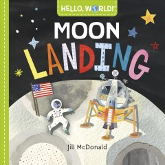 Moon landing - Jillillustrator.author McDonald