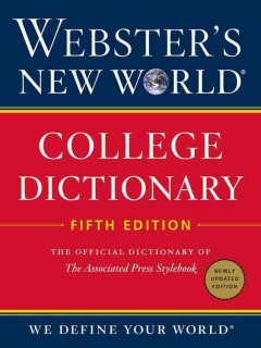 Webster's New World College Dictionary -  Houghton Mifflin Harcourt (COR)