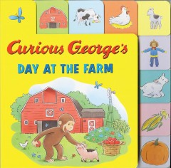 Curious George's day at the farm - H. A. (Hans Augusto) Rey