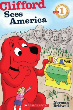 Clifford sees America - Norman Bridwell
