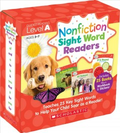 Nonfiction Sight Word Readers. teaches 25 key sight words to help your child soar as a reader! - Liza Charlesworth