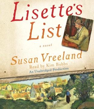 Lisette's list : a novel - Susan Vreeland
