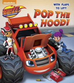 Pop the hood! with flaps to lift