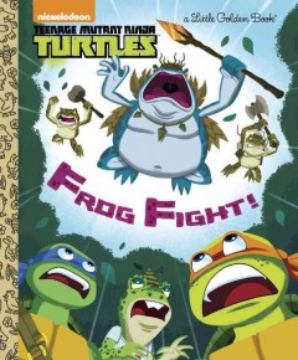 Frog fight! - Mary Tillworth