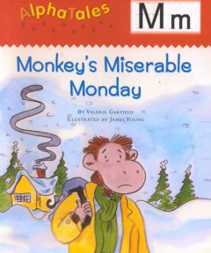 Monkey's miserable monday - Valerie Garfield