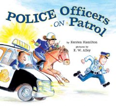 Police officers on patrol - K. R. (Kersten R.) Hamilton