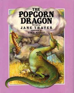 The popcorn dragon - Jane Thayer