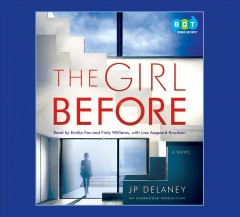 The girl before : a novel - J P Delaney