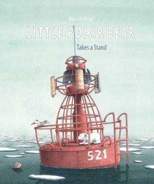 Little polar bear takes a stand - Hans de Beer