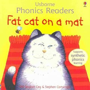 Fat cat on a mat - Phil Roxbee Cox