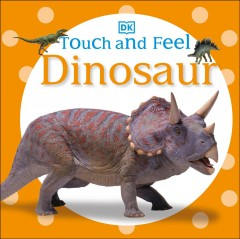 Touch and feel dinosaur.