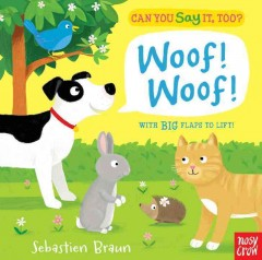 Can you say it, too? Woof! woof! - Sebastien Braun