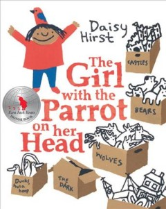 The girl with the parrot on her head - Daisy Hirst