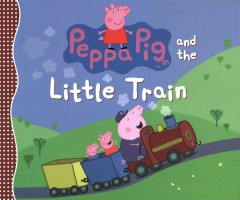 Peppa Pig and the little train.