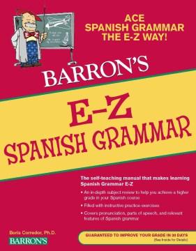Barron's E-Z Spanish Grammar - Boris Corredor