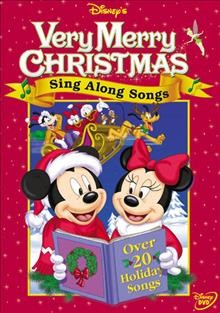 Disney's sing along songs. Very merry Christmas
