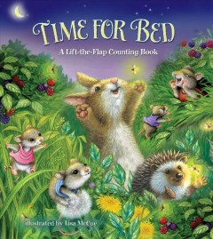 Time for Bed : a lift-the-flap counting book - A.J Heaslip