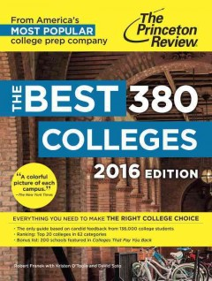 The best 380 colleges - Robert Franek